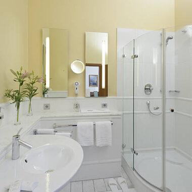 Eines unsere Badezimmer
